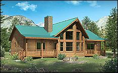 Updated Chicory 2BR Cabin Kit