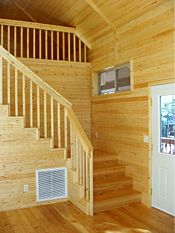 Pine paneling, Fir floors