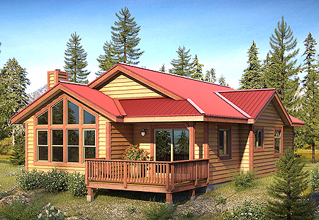 Cabin Kit Homes Mill Direct Tax Free Nafta Program Save