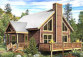 """Rockridge"" - Timber Frame Entry"