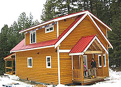 Sweetflag - optional loft dormers and covered deck