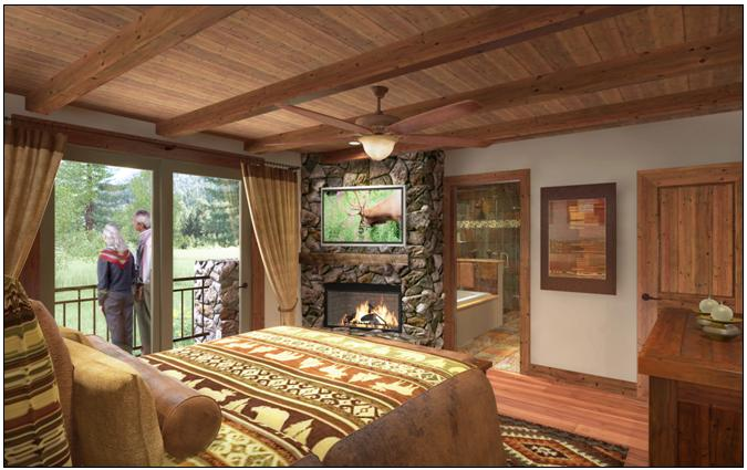 "new - The ""Peaks"" Model - Master Suite"