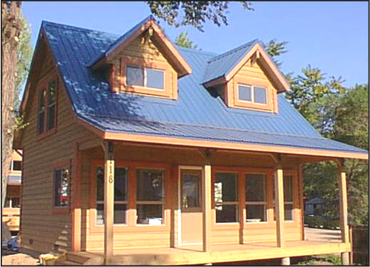 Cabin kit homes mill direct customer direct save thousands for Cabin kits california