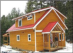 Sweetflag Model - optional dormers and covered deck