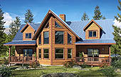 "The ""Buckthorn"" model -Deluxe moutain part home"