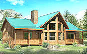 Updated Chicory 3BR Cabin Kit